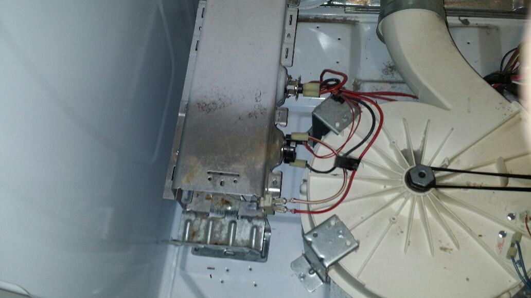 Whirlpool cabrio dryer heating element wiring diagram - Replace whirlpool dryer heating element ...